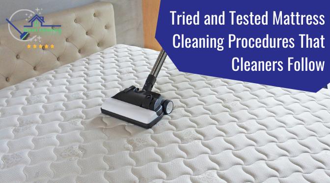 Mattress Cleaning Procedures